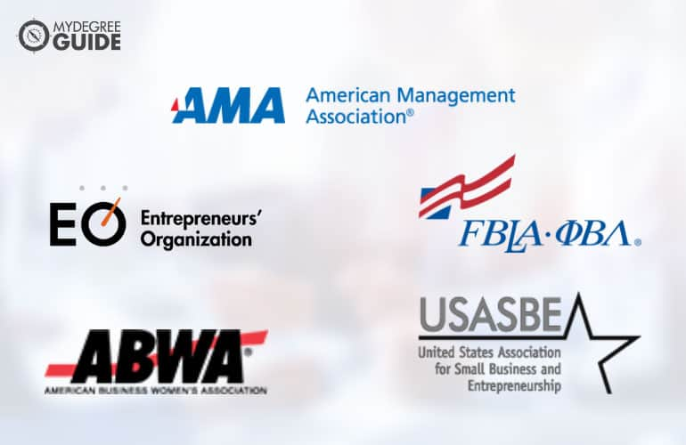 logos of Professional Organizations for Those with a Degree in Business Administration