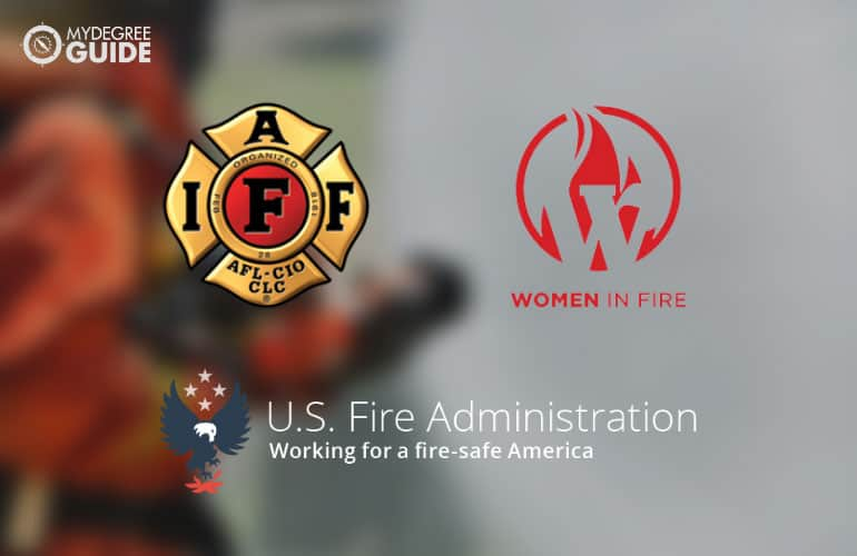 logos of Professional Organizations for Those with a Degree in Fire Science