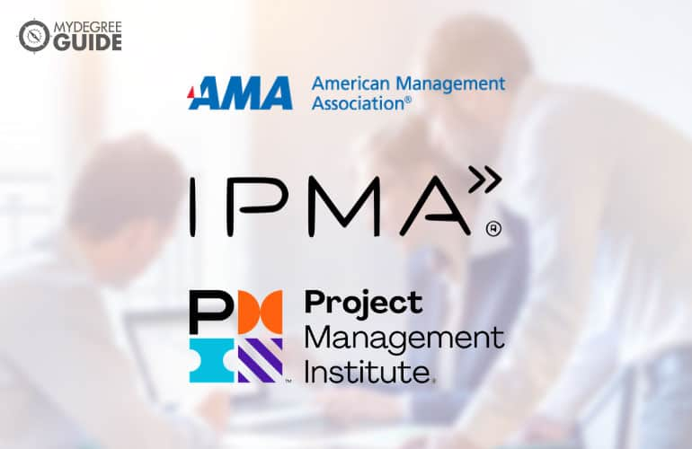 logos of Professional Organizations for Those with a Degree in Project Management