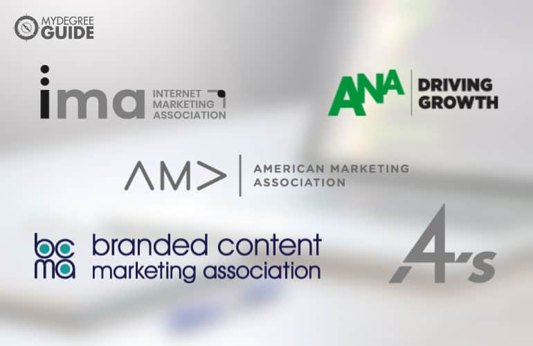 logos of Professional Organizations for Those with a Digital Marketing Degree