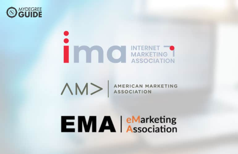logos of Professional Organizations for Those with a Master's Degree in Marketing