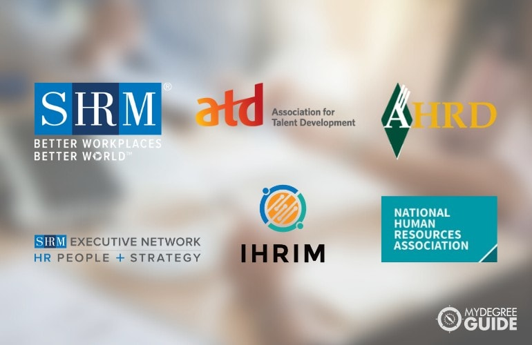 logos of Professional Organizations for Those with an HR Degree