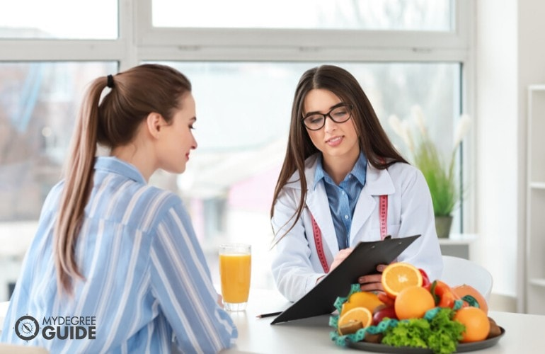 Online Dietetics Degree