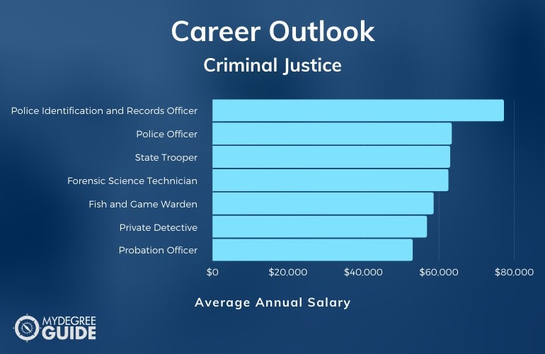 Associate Degree in Criminal Justice Salary