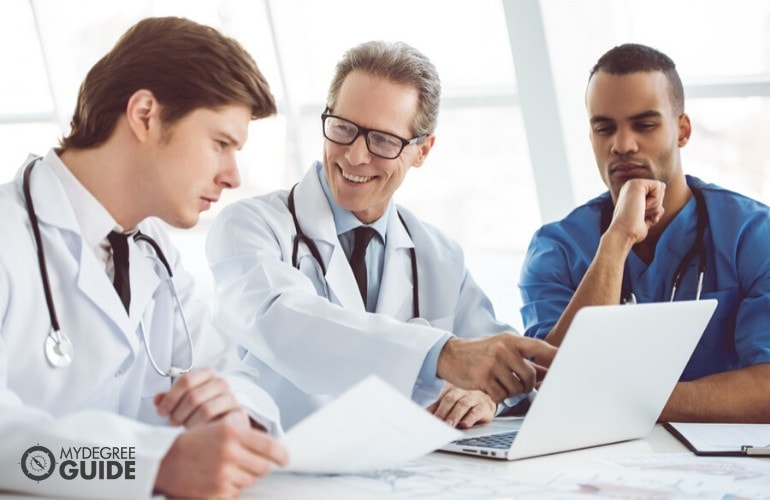 Health Information Managers in a meeting