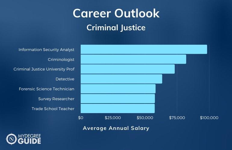 Doctorate in Criminal Justice Careers & Salaries