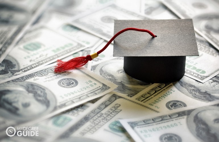 financial aid for Masters in Education Administration students