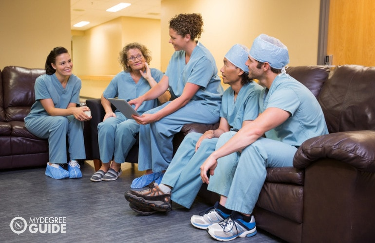 Registered Nurses meeting
