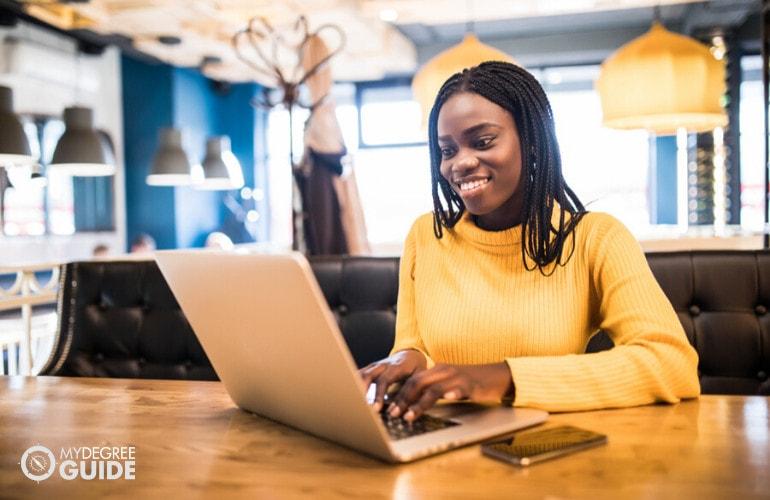 Associate Degree in Social Work student