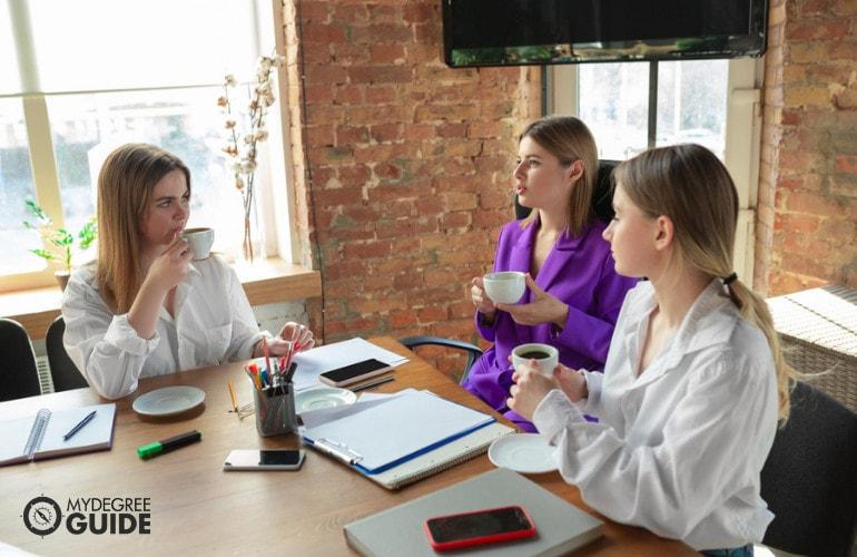 business administrators meeting