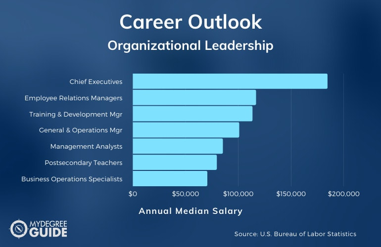 Organizational Leadership Careers & Salaries