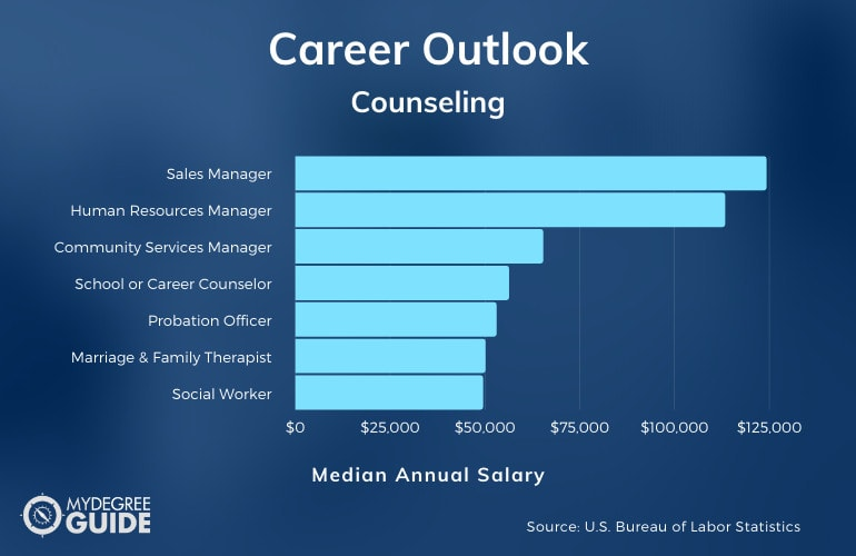 Counseling Careers & Salaries