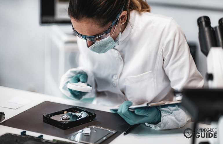 Forensic Science Degrees