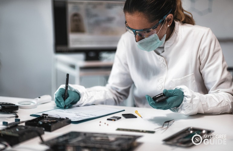 Forensic Science Professions