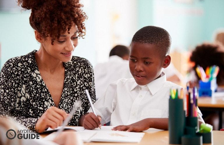 Teacher with an Associate's Degree