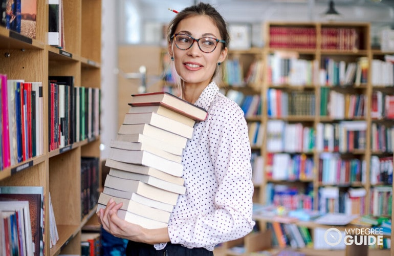 master's degree in library science