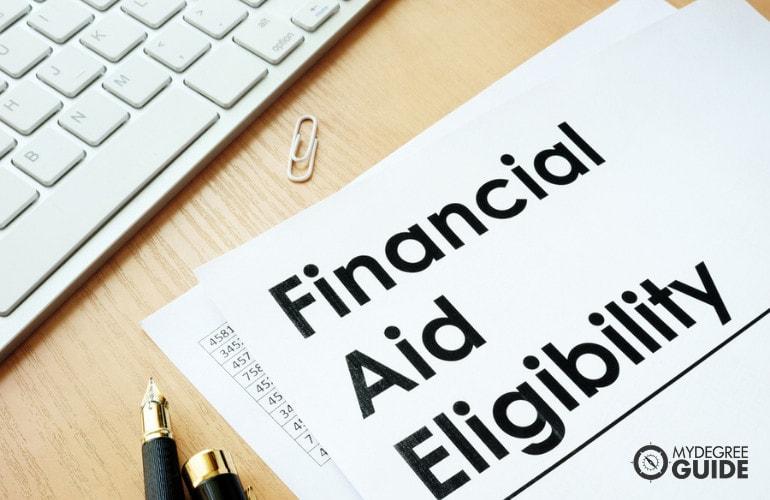 MSN & MBA Programs financial aid