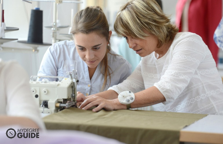 Completing a vocational course