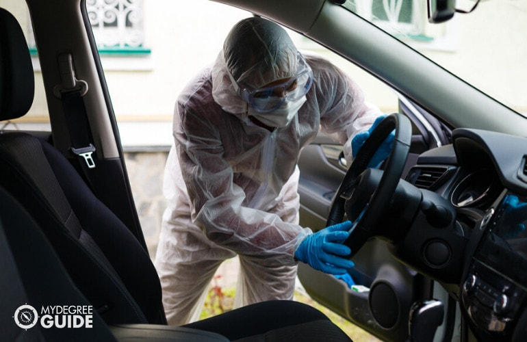 Crime Scene Investigator Online Degree
