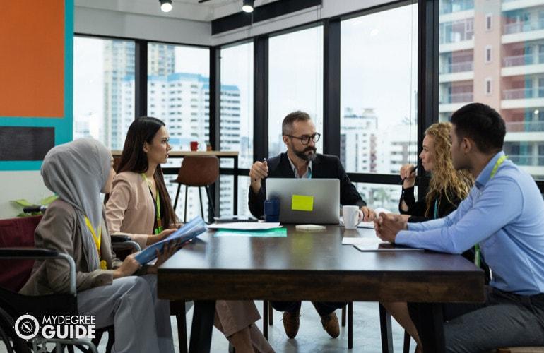 MBA in organizational leadership