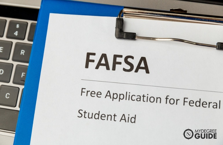 Database Management Degrees financial aid