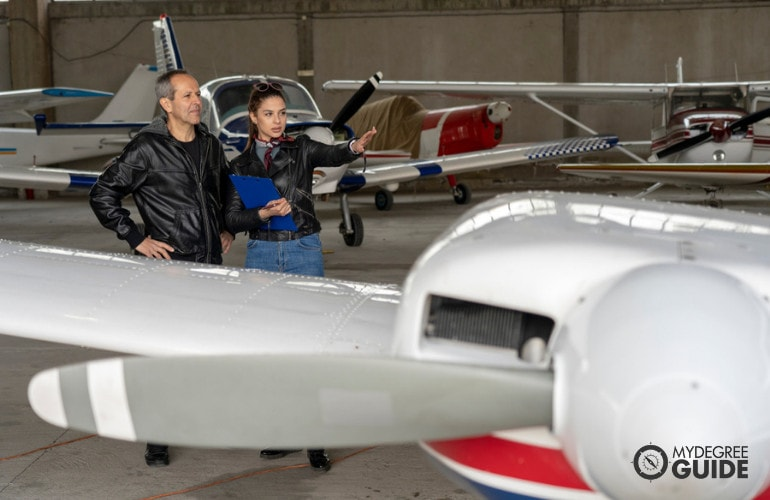College with an Aviation Program