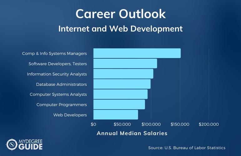 Internet and Web Development Careers & Salaries