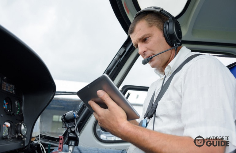 pilot tuition and flight training